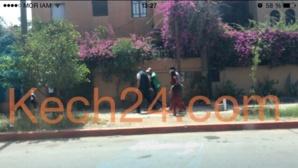 اعتقال 4 أشخاص من بينهم 2 ڤيدورا اللذين ظهرا بڤيديو يحتجزان فتاة أمام حانة بحي جيليز بمراكش