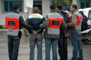 توقيف عصابة بغابة الشباب بمراكش