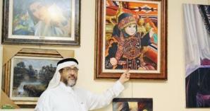 تكريم الفنان التشكيلي السعودي هشام بنجابي بمراكش