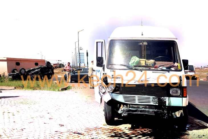 عاجل : اصابة أزيد من 8 اشخاص في حادثة سير خطيرة بشارع محمد السادس بمراكش + صور حصرية