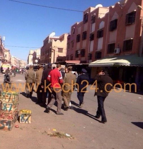 عاجل: السلطات المحلية تشن حملة تحرير الملك العمومي ببوعكاز