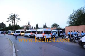 اعتقال 11 طالبا على خلفية خروجهم من الحي الجامعي بمراكش مدججين بالسلاح الابيض