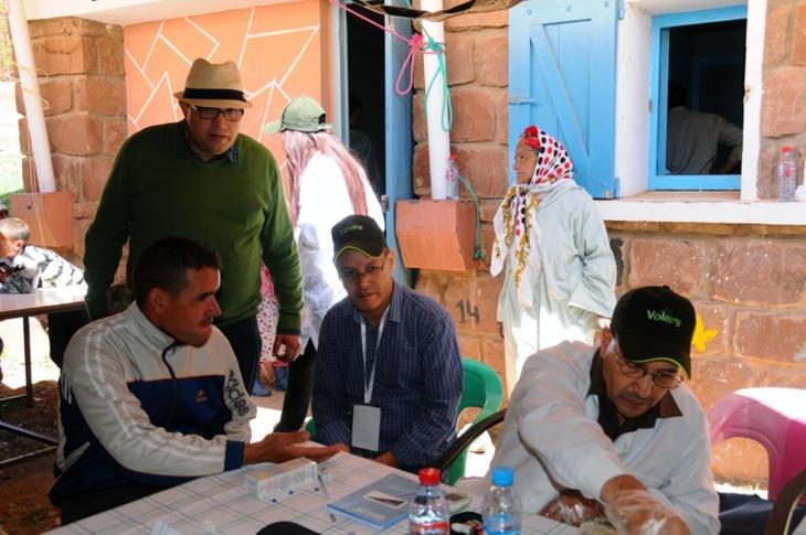 نادي الصحافة للتزحلق بمراكش ينظم قافلة طبية بأوكايمدن