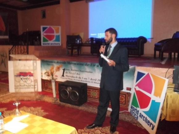 عادل رجا رئيس جامعة الرماية بالنبال يتحدث عن إتفاقية الشراكة مع الإتحاد العراقي للقوس والسهم + فيديو