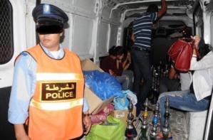 مداهمة مقهى للشيشة بجيليز بمراكش واعتقالات في صفوف الزبناء