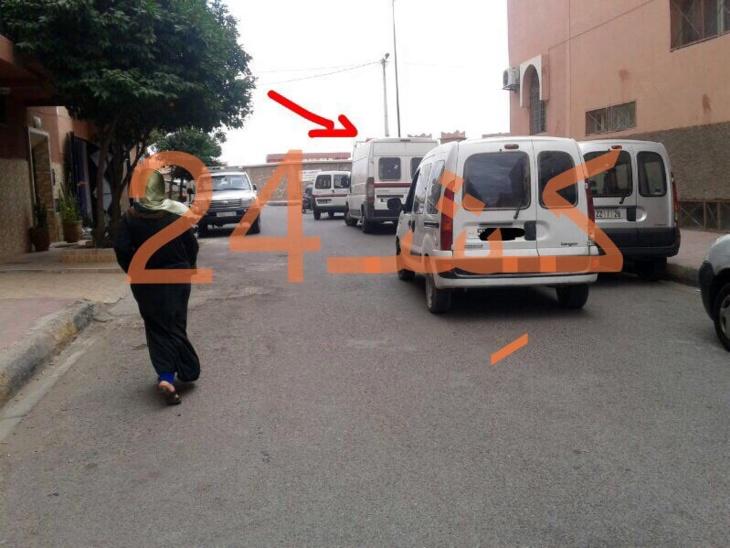 سيبة : هكذا انتهت فصول مطاردة هوليودية بتوقيف شابين على متن سيارة بحي المسيرة + صورة وڤيديو