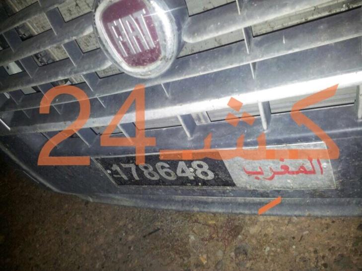 سيارة إسعاف تقتل خمسينيا بمراكش + صور