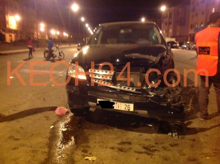 حادثة سير خطيرة بالمحاميد 9 + صور حصرية
