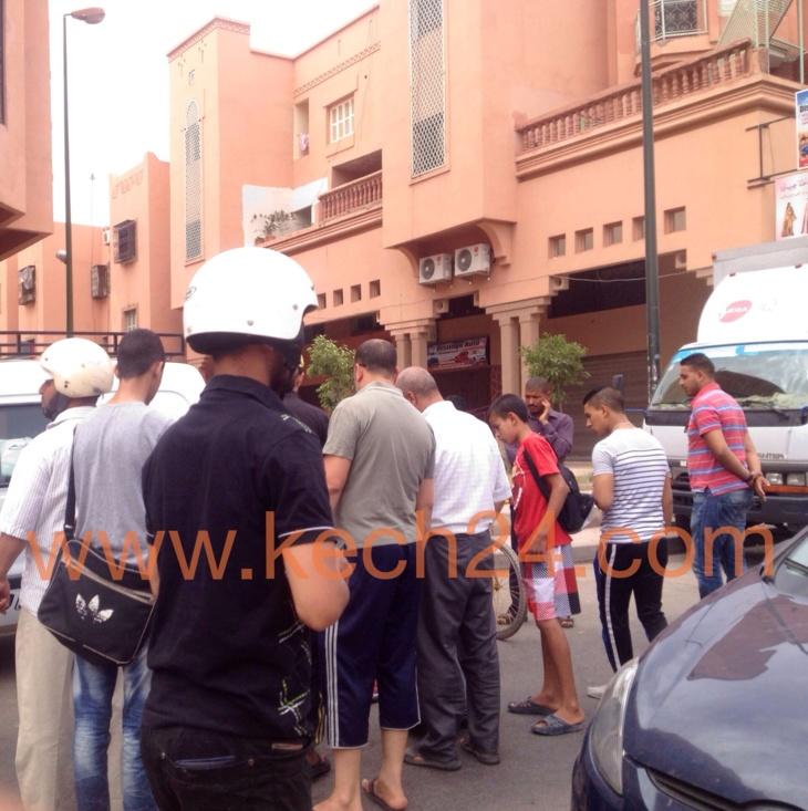 عاجل: إصابة سيدة بجروح خطيرة في حادثة سير قرب القواس المحاميد + صور حصرية