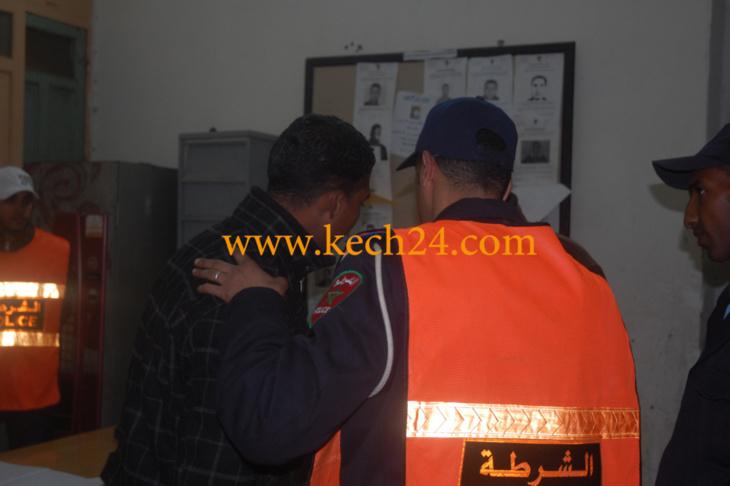 بالمدينة القديمة .... أمن مراكش يتمكن من إعتقال مروج للمخدرات