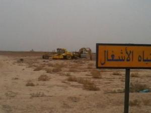 مواطنون بسيدي الزوين يعترضون الجرافات ويوقفون أشغال تعبيد طريق باتجاه منزل مستشار جماعي