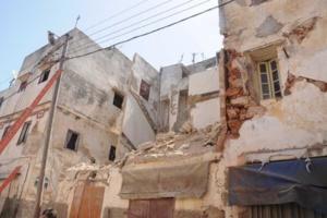 انهيار منزل بحي القنارية بمراكش