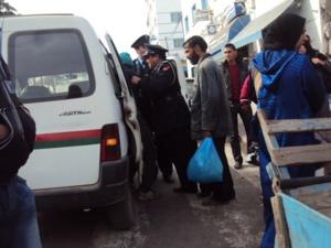 عاجل : اعتقال شخص بجيليز متهم بمحاولة قتل