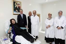 إعطاء الانطلاقة للحملة الوطنية للتبرع بالدم من مدينة مراكش