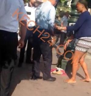 مواطنة إفريقية تروع رواد مقهى بجيليز بمراكش والسبب قنينة ڤودكا