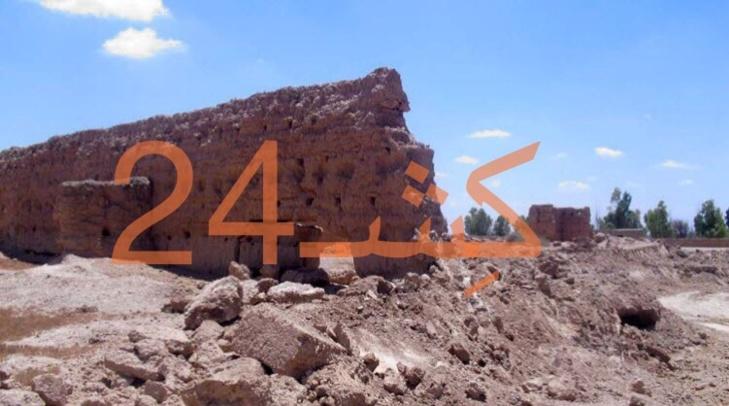 جرافات مشروع جماعي بسيدي الزوين نواحي مراكش تجهز على آثار تاريخي يعود لعهد الحسن الأول