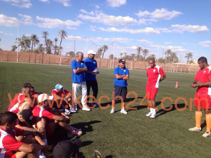 إختتام الدورة التكوينية لفائدة مدربي كرة القدم في جزئها الأول بمراكش+ صور
