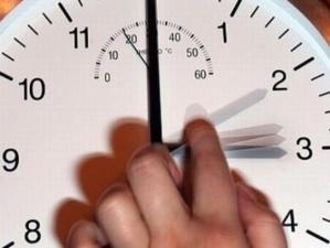 عودة الساعة القانونية بعد منتصف هذه الليلة