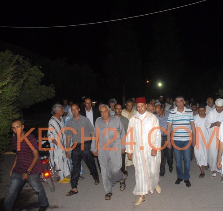 بالڤيديو : عبد السلام بيكرات والي الجهة يتلو الفاتحة على روح ضحايا مدرسة سيدي يوسف بن علي بمراكش