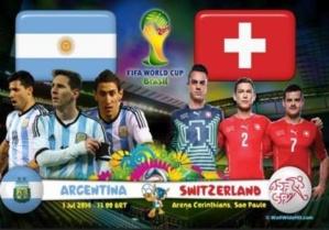 اليوم في المونديال : الأرجنتين تواجه الطموح السويسري و بلجيكا تصطدم بأمريكا