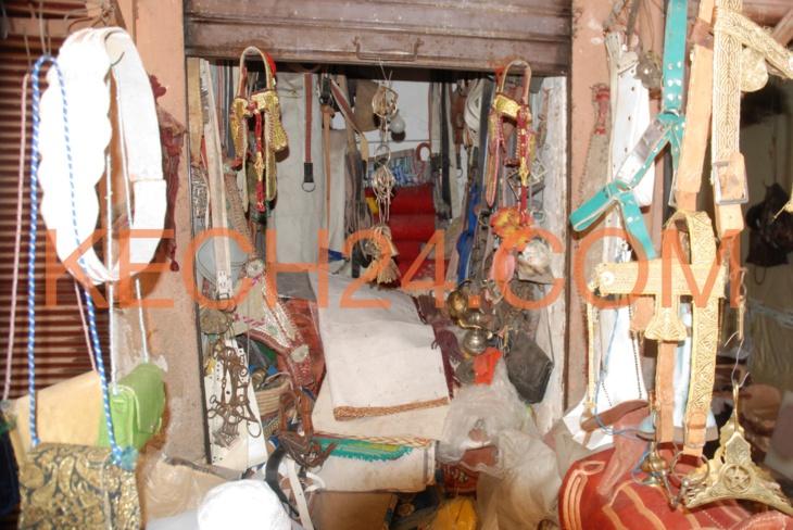 رمضانيات : سوق السراجين بمراكش ( تاسراجت أو صناعة السروج )