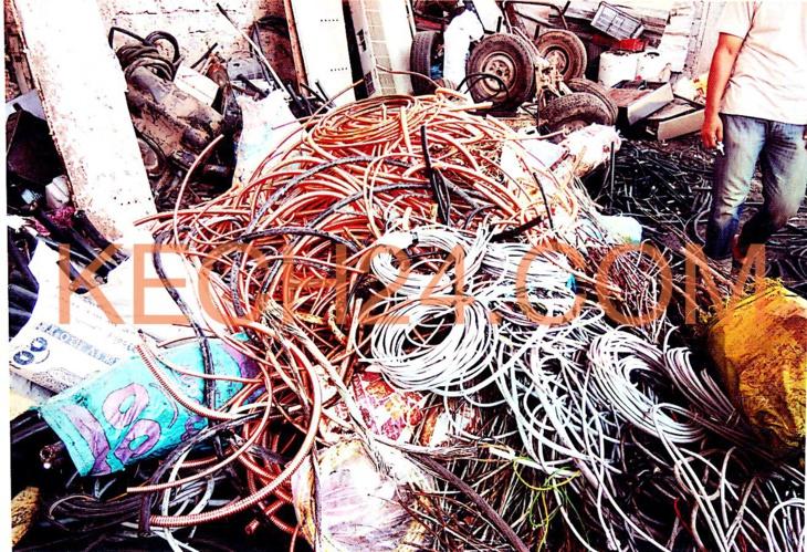 مصالح امن مراكش تحجز كمية مهمة من الأسلاك الكهربائية المتحصلة من السرقة