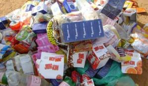حجز كميات من المواد والمنتجات الغذائية الغير صالحة للاستهلاك بقلعة السراغنة