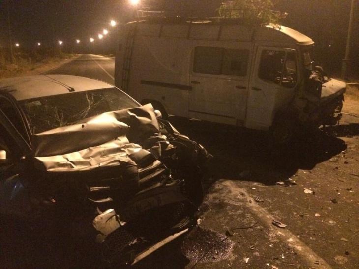 عاجل : نقل أربعة اشخاص في حالة حرجة إتر حادثة سير خطيرة بمراكش + صورة من عين المكان