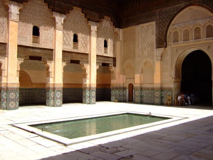رمضانيات : مدرسة ابن يوسف بمراكش