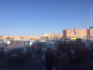 اعتقال جزائري بتهمة السرقة من داخل السيارات بمراكش