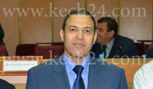 عبد السلام بيكرات والي الجهة يفاجئ موظفي وأعوان السلطة بالملحقة الادارية الحي الشتوي جيليز بمراكش