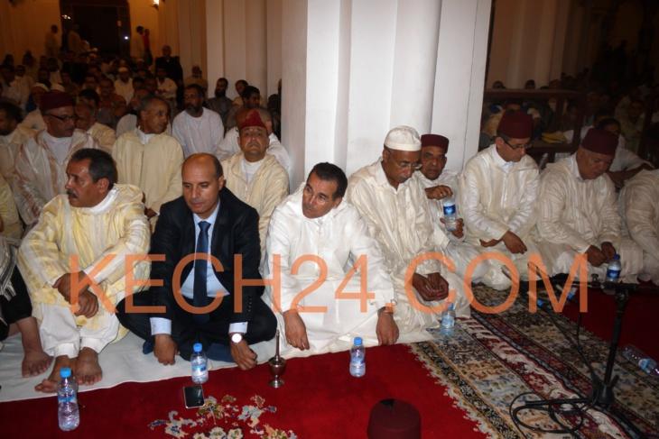 والي الجهة عبد السلام بيكرات يحيي حفل ليلة القدر بمسجد الكتبية التاريخي بمراكش + صور خاصة