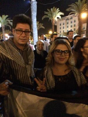 وقفة تضامنية مع الشعب الفلسطيني بمراكش