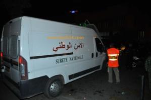 اعتقال عنصر من عصابة السماوي بحديقة مسجد الكتبية بمراكش اثناء صلاة القيام