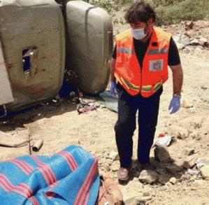 مصرع سائق شاحنة لنقل المياه نواحي إقليم قلعة السراغنة