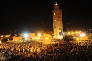 أزيد من 80 ألف مصل في ليلة ختم القارئ وديع شكير للقرآن الكريم بمسجد الكتبية بمراكش