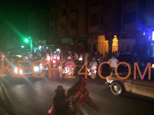 إنفراد : اعتقال مشرملين بعد مطاردة بوليسية بحي أمرشيش بمراكش + صور حصرية