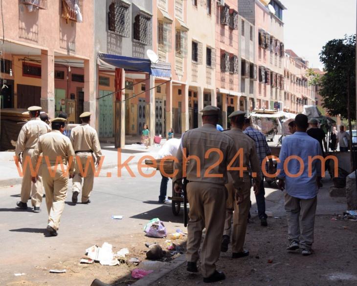 السلطات المحلية بالمحاميد تشن حملة على الباعة المتجولين في ثاني أيام عيد الفطر+ صور حصرية