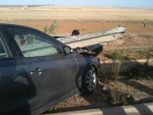 مصرع طفلين وجرح ثلاثة اخرين في حادثة سير خطيرة بالطريق السيار الرابطة بين مراكش وسطات