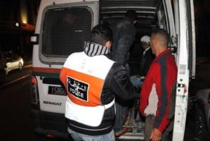 رئيس الشرطة القضائية ينجح في اعتقال المتهمين بسرقة عدد من المواطنيين بشارع محمد الخامس بمراكش