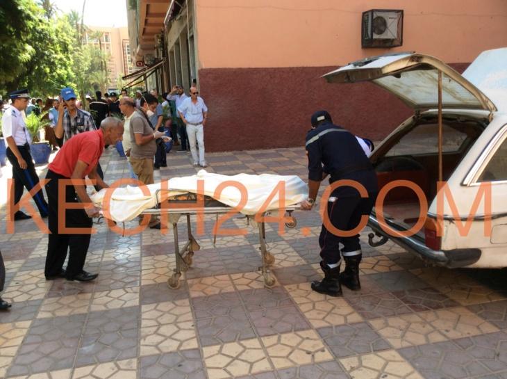 عاجل : انتحار شاب من إحدى العمارات بحي جيليز بمراكش + صورة حصرية