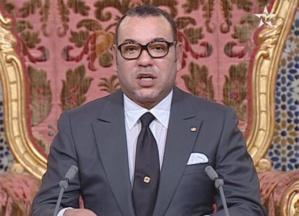 جلالة الملك يوجه خطابا إلى الشعب المغربي بمناسبة ثورة الملك والشعب