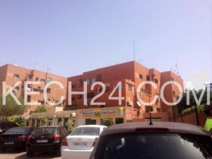 سرقة الصندوق الحديدي لوكالة تأمين بشارع علال الفاسي بمراكش