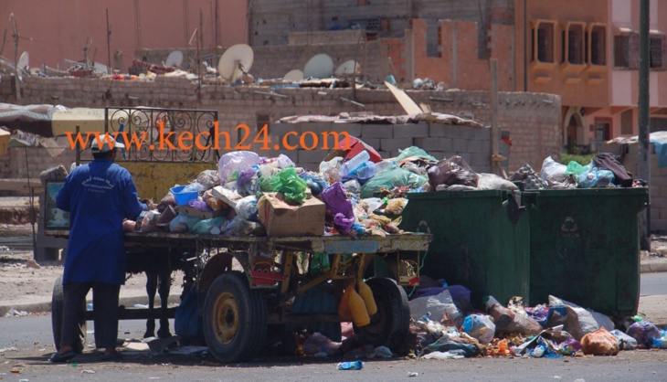 وأخيرا... المجلس الجماعي لمراكش يتحرك لمحاصرة الأزبال