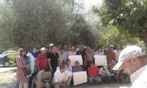 أساتذة يحتجون بمراكش من أجل استكمال دراستهم الجامعية