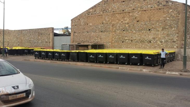 بالصور أسطول شاحنات النظافة التابعة للشركات الجديدة بمراكش كِشـ24 تكشف تاريخ بدا عملها