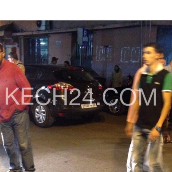 عاجل : مخمور يدهس بسيارته مجموعة من المواطنيين بمراكش + صور من عين المكان