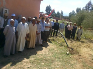 رئيس مجلس جماعة سيدي بدهاج يفسد اهداف المبادرة الوطنية