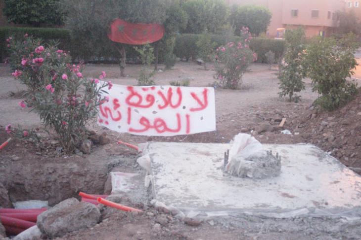 سكان حي بن تاشفين بآزلي يشتكون