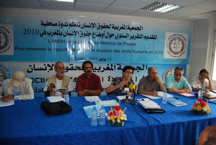 الجمعية المغربية لحقوق الإنسان تحشد للوقفة الوطنية ضد